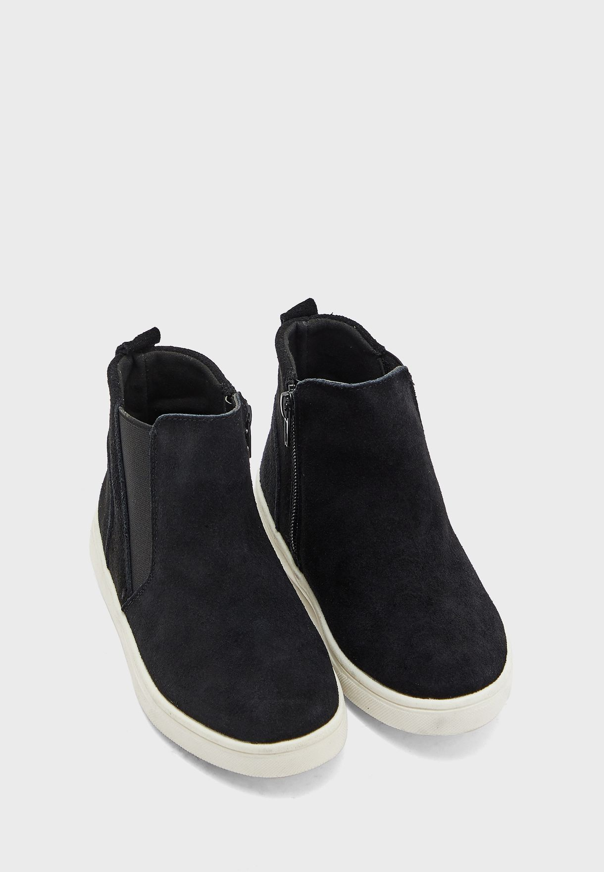 Kids Zip Through Ankle boot