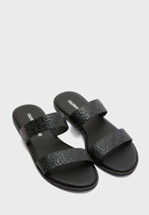 Two Straps Flat Sandals