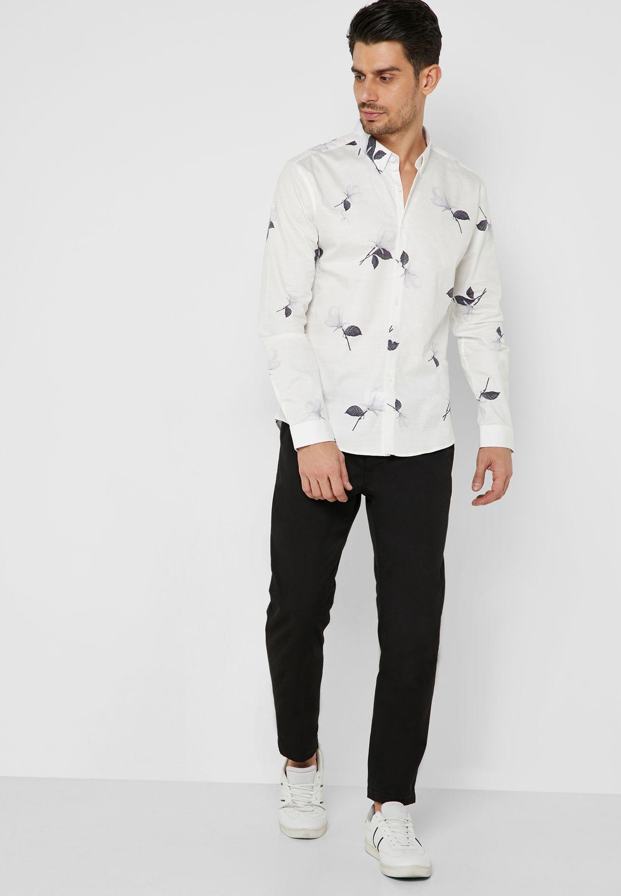 Smart Floral Shirt