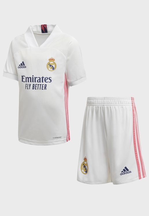 Kids Real Madrid Home Set