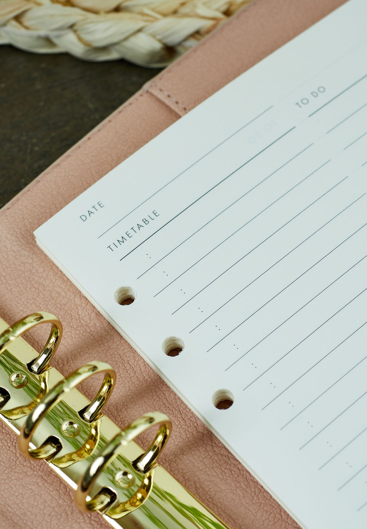 Daily Undated Planner Inserts