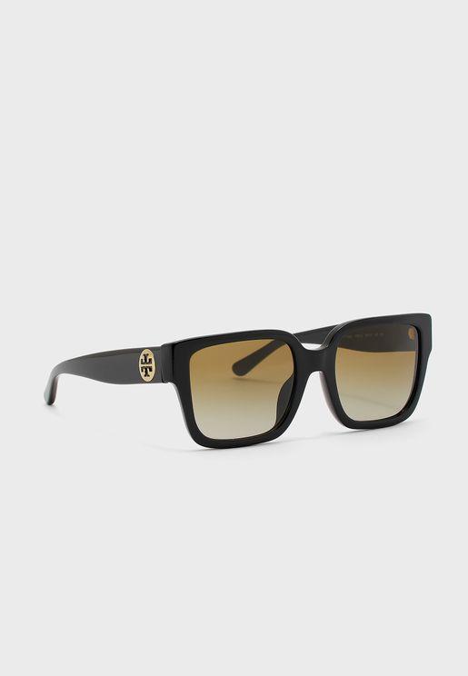 0TY7156U Wayfarer Sunglasses