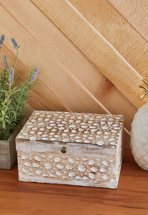 Mosaic Printed Storage Box