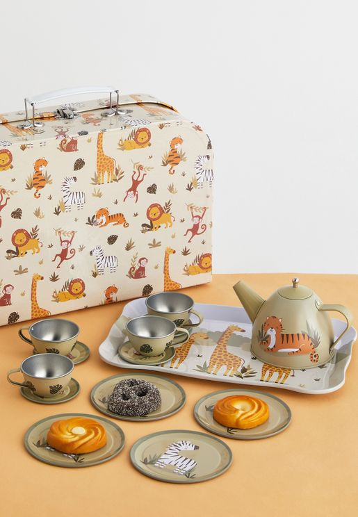 Savannah Safari Kid's Tea Set