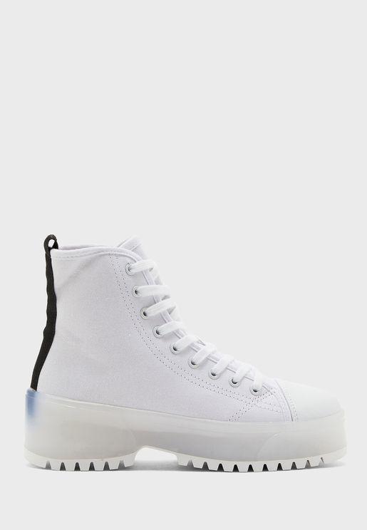 High Top Sneaker Boot