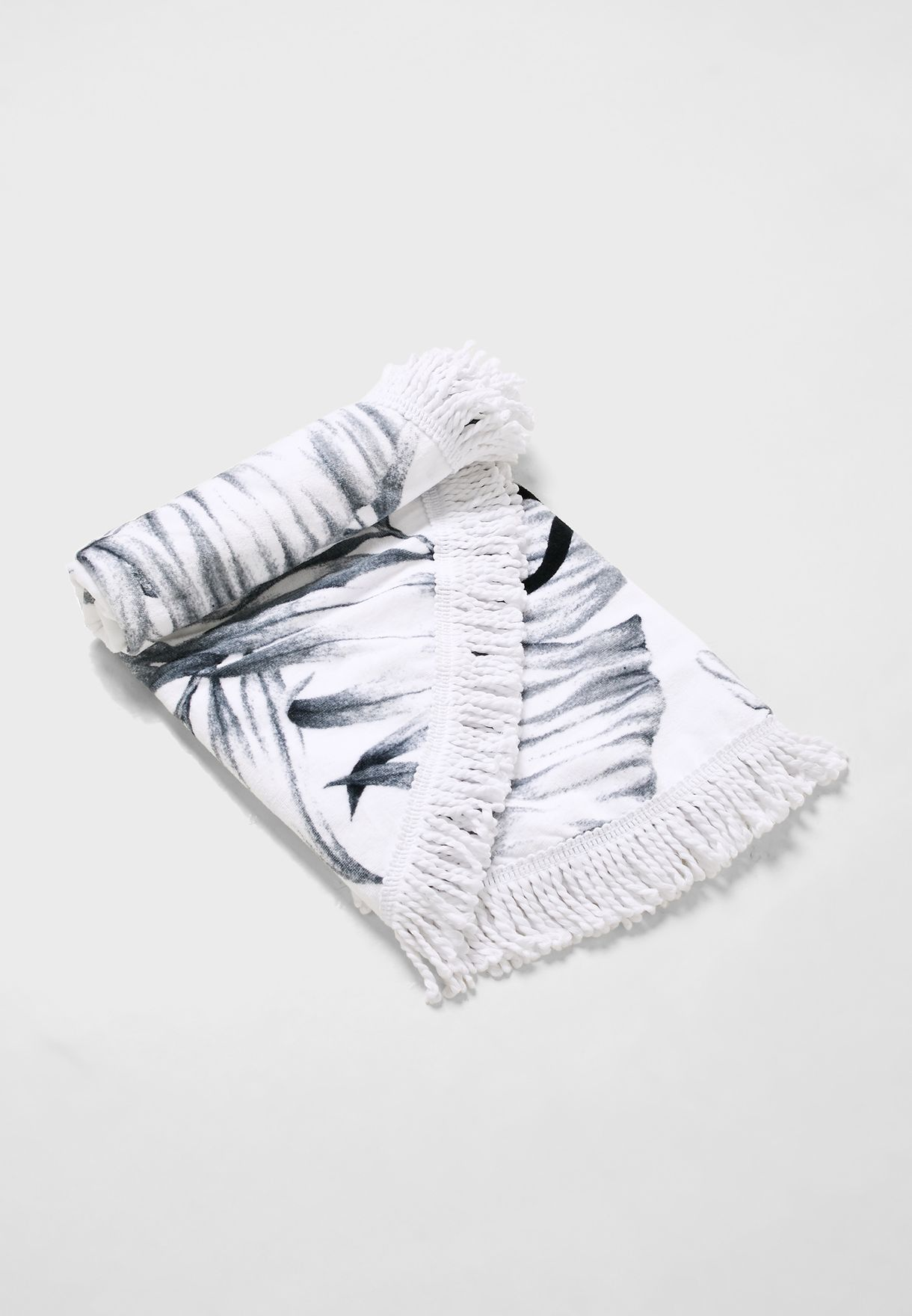 منشفة بحر مطبعة