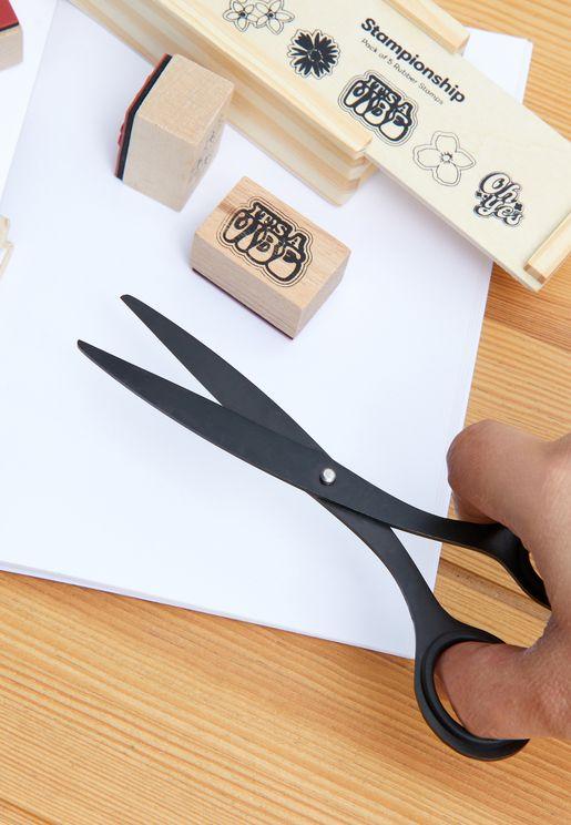 Black Metal Scissors