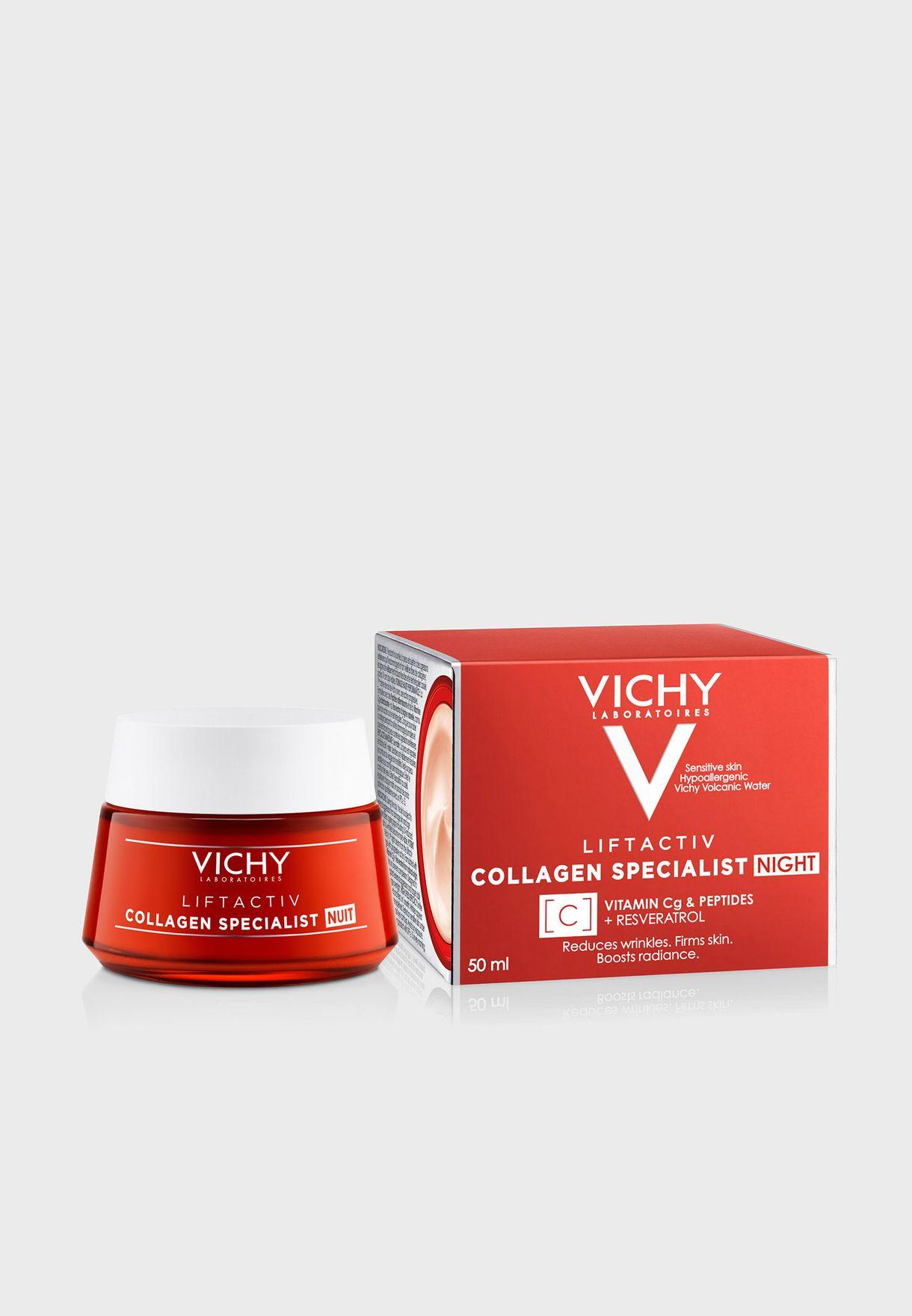 Liftactiv Collagen Specialist Night Cream 50Ml