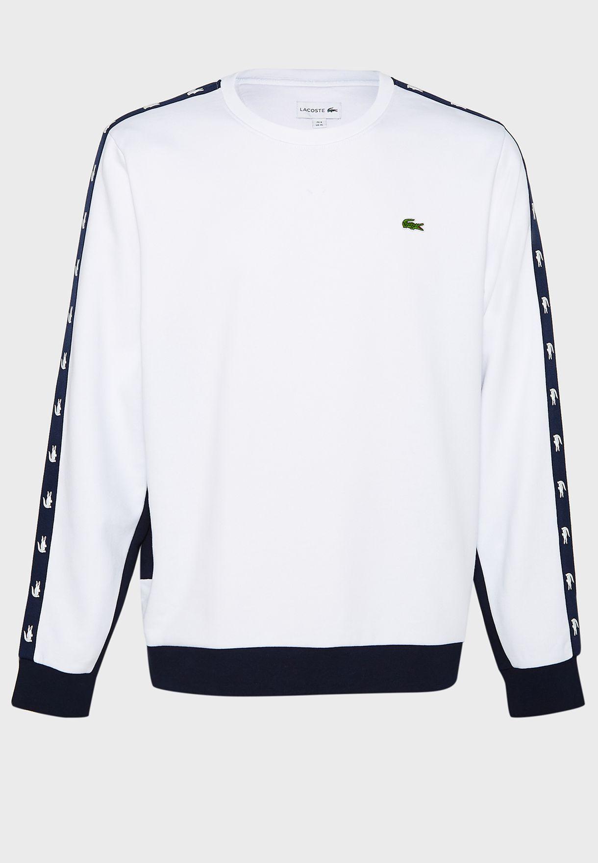 Logo Tape Sleeve Sweatshirt