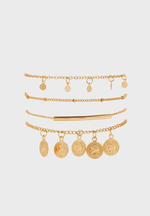 Multipack Fjolla Bracelets