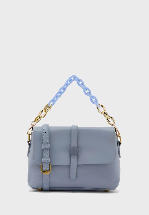 Multi Strap Chain Handbag