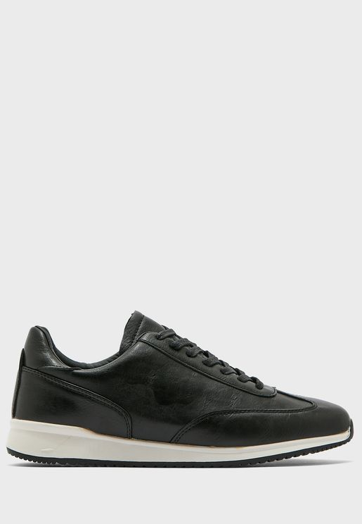 Sporty Casual Lace Up