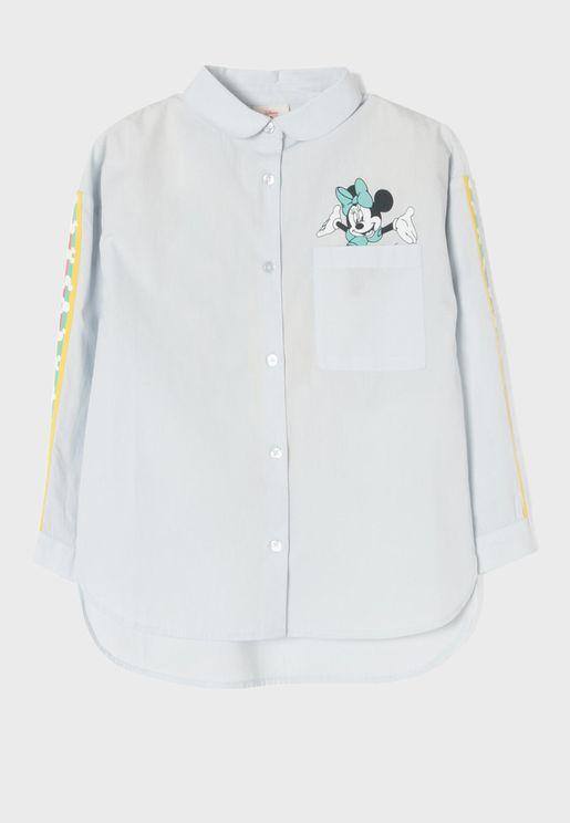 Kids Minnie Mouse Shirt