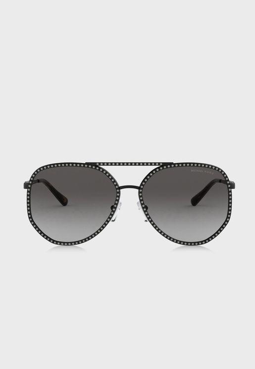 نظارة شمسية افييايتور مظللة