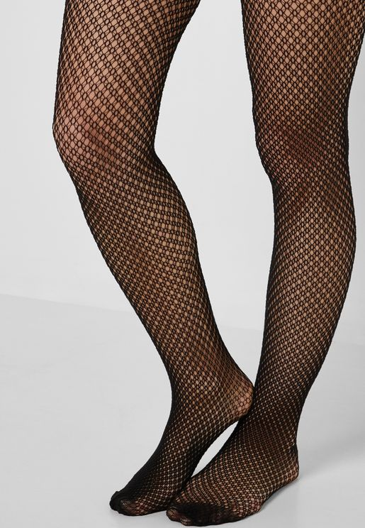 Sheer Geo Tights