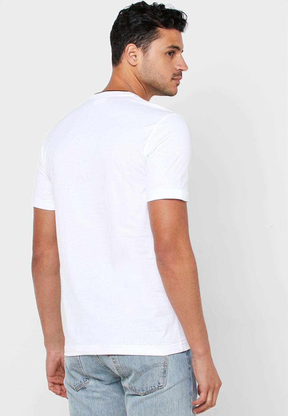 Brush Logo Crew Neck T-Shirt
