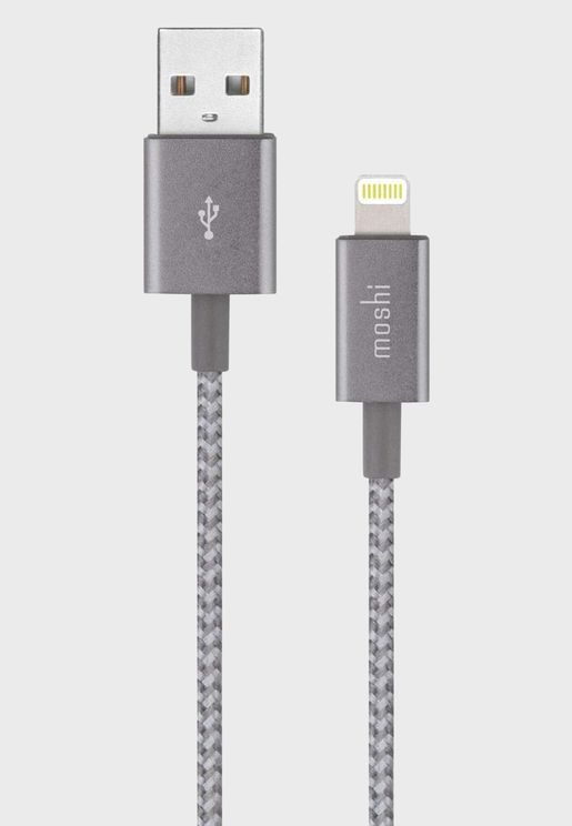Moshi Integra USB-A Charge / Sync Cable With Light