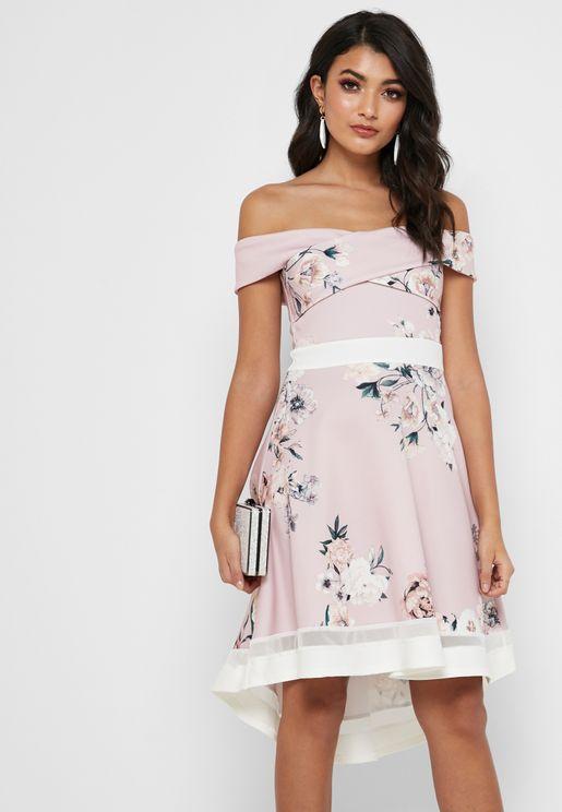 8b6f01c239 Bardot Floral Print Wrap Dress