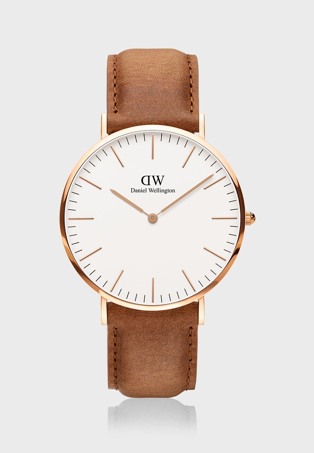 Classic Durham RG White 40mm Watch