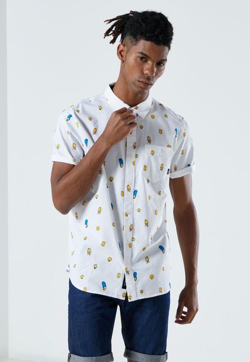 قميص من مجموعة ذا سيمبسونز