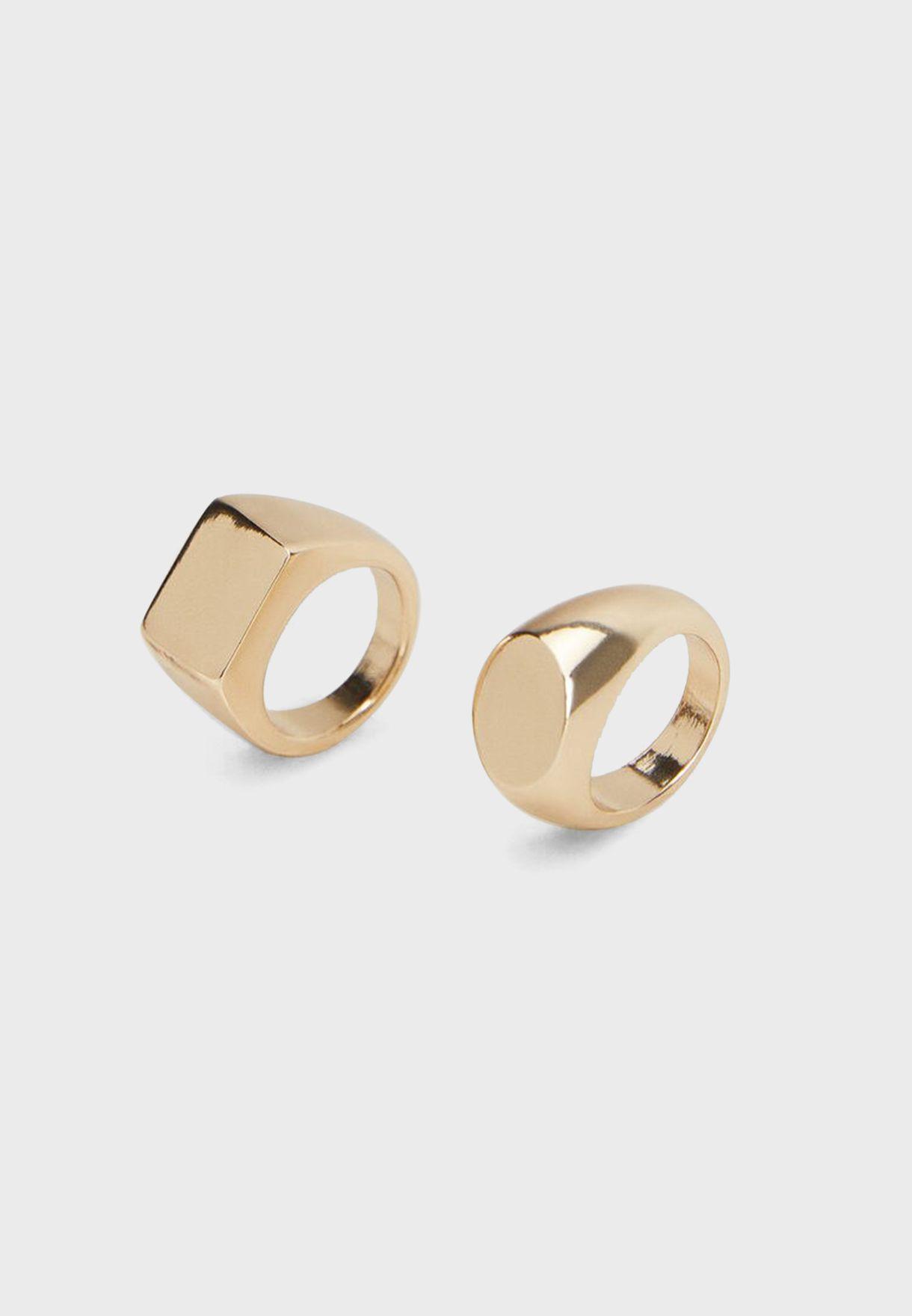 Fried Seal Ring Set
