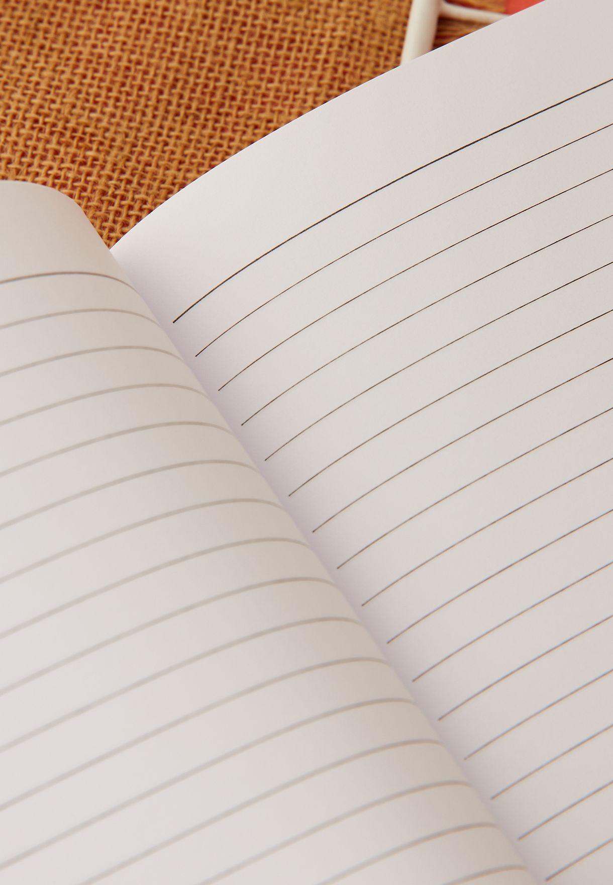 دفتر ملاحظات A5 بطباعة اللاما