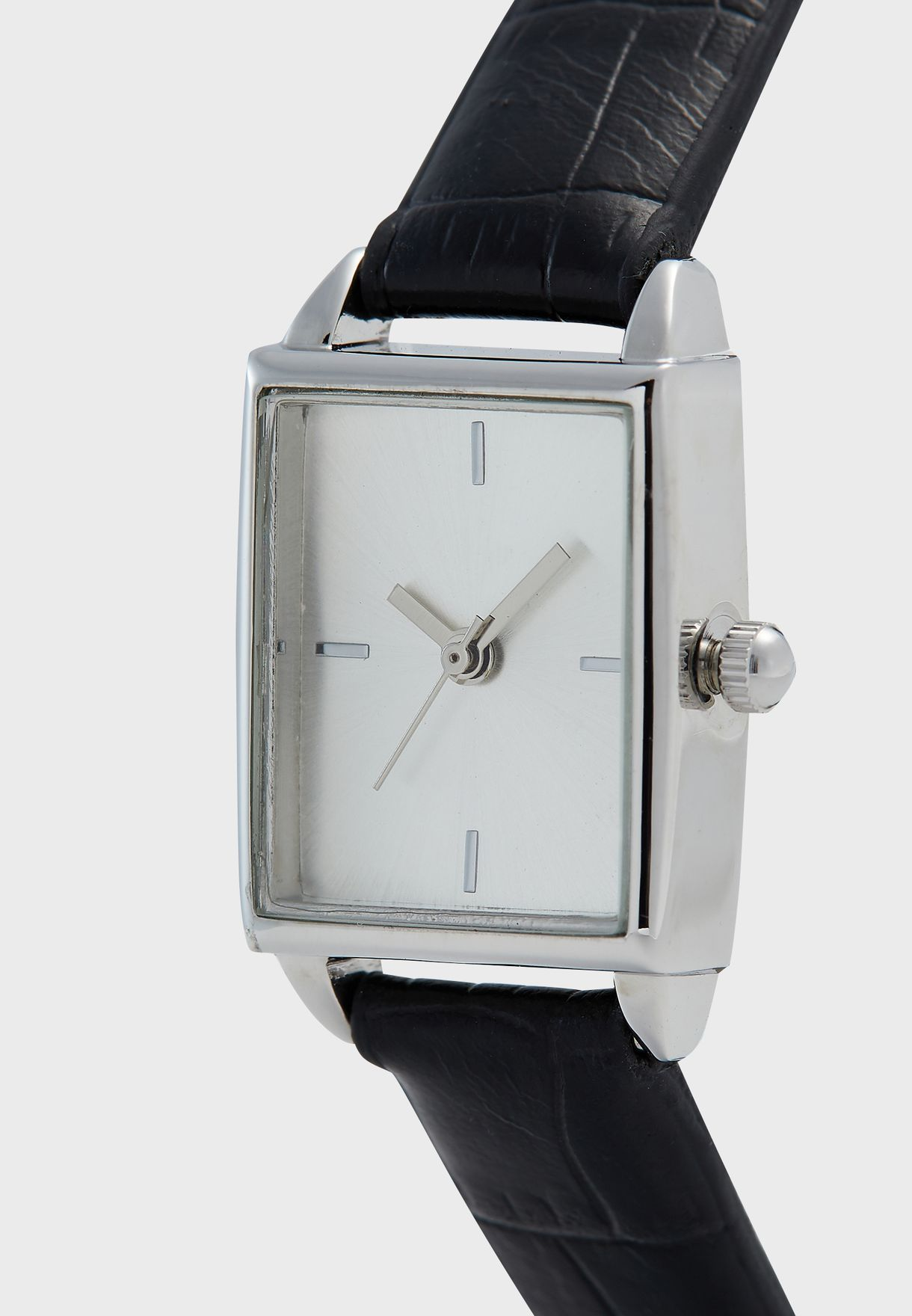 Watch with Croc Strap