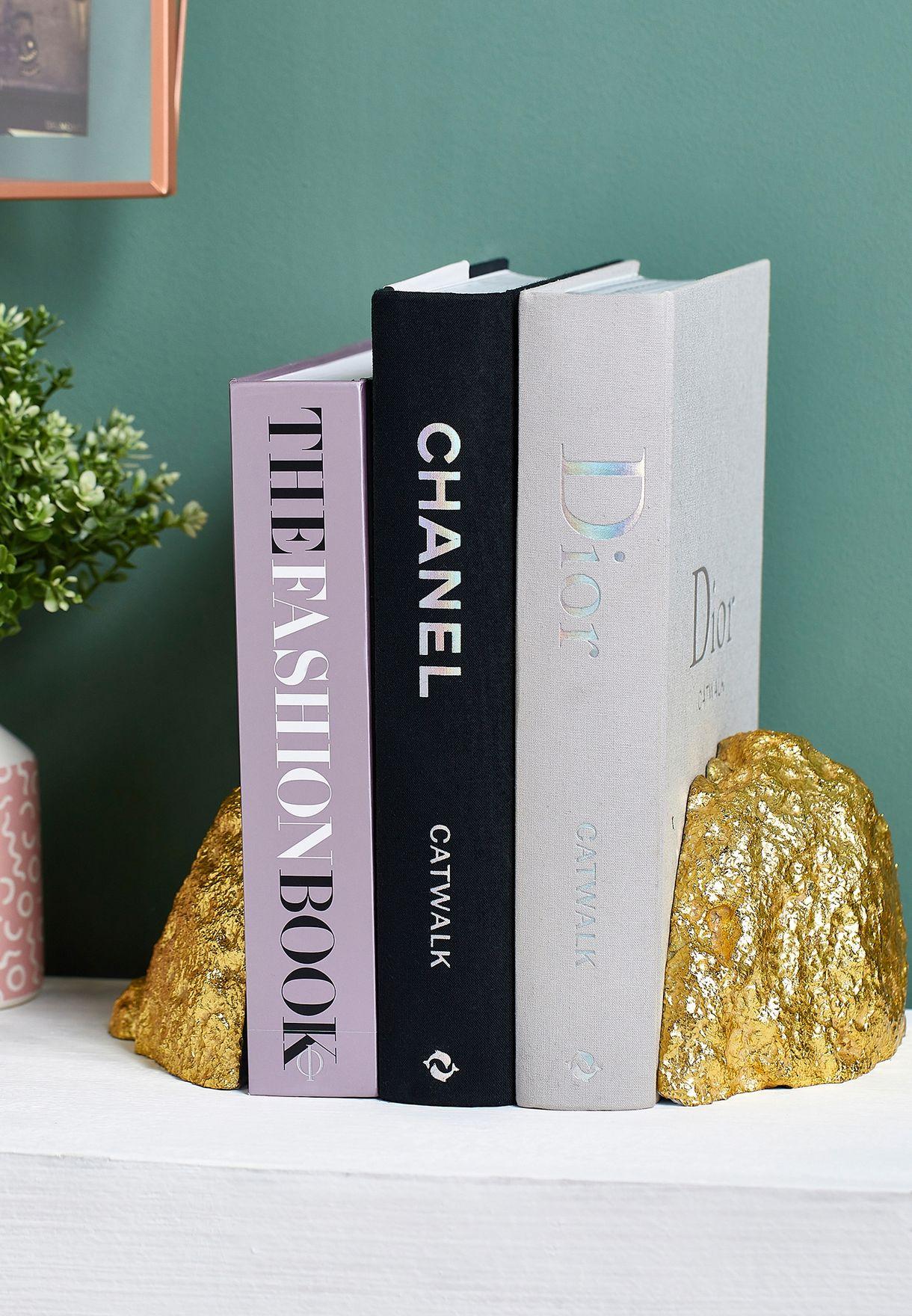 Agate Decorative Book Ends