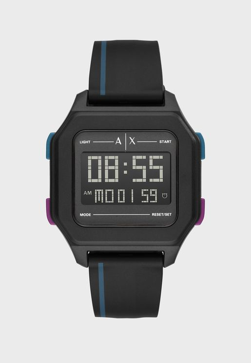 AX2955 Shell Digital Watch
