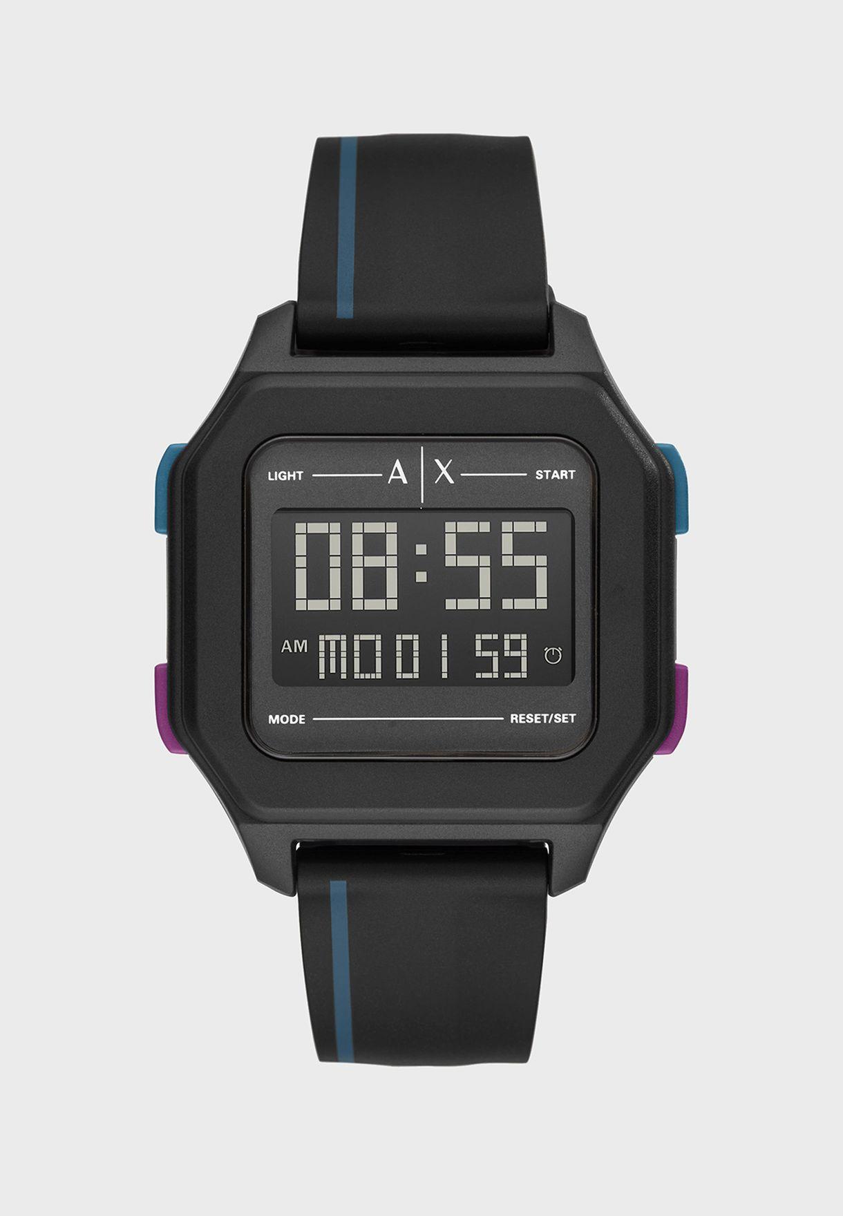 AX2955 Shell Digital Watch