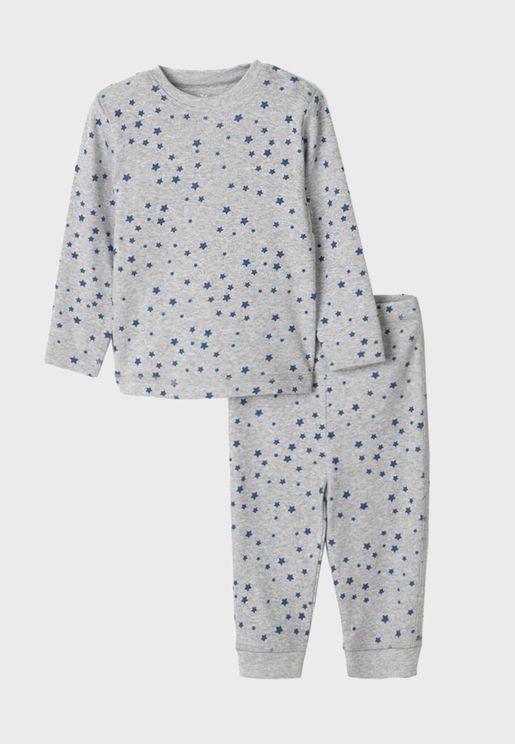Infant Star Print Pyjama Set