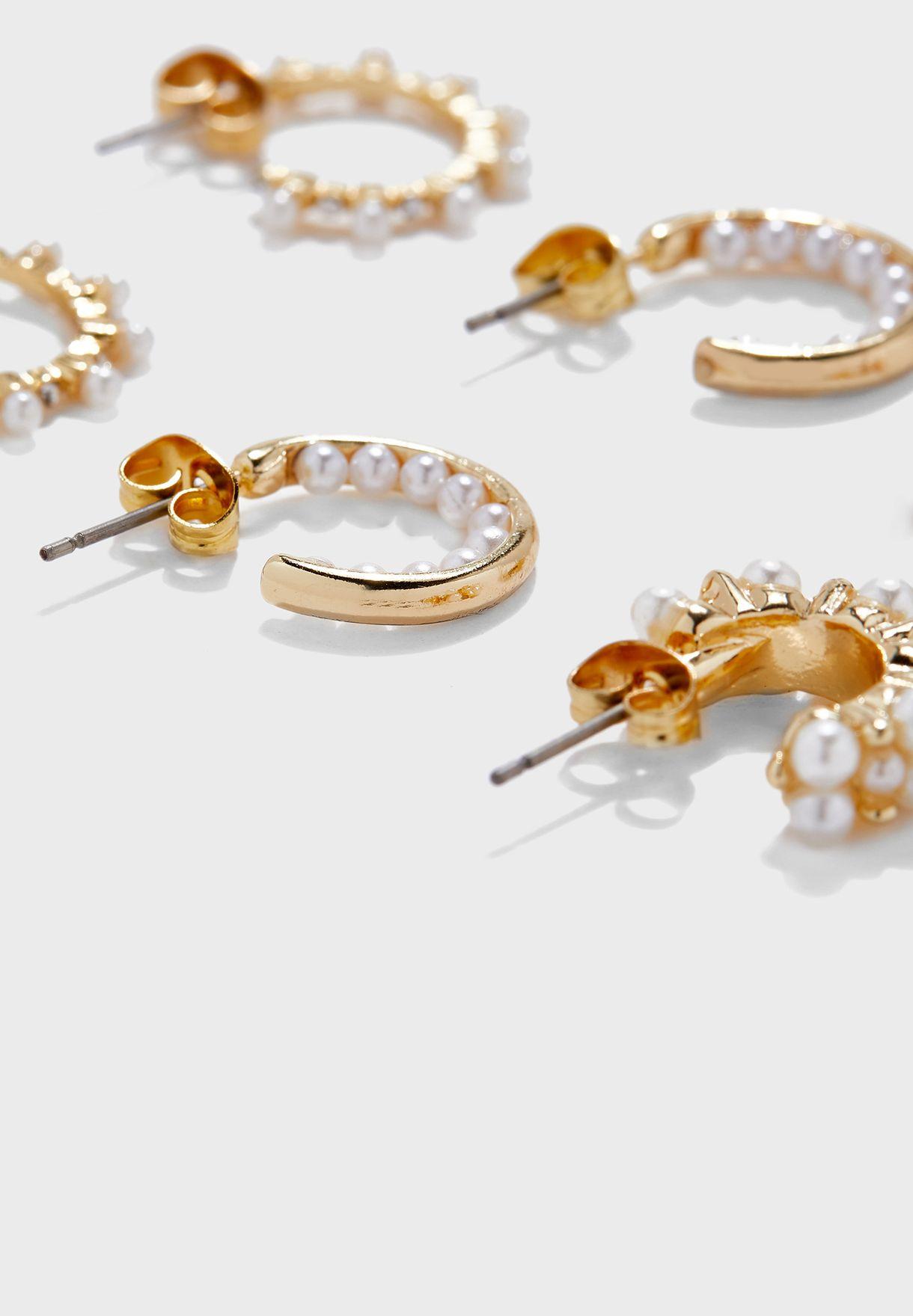Multipack Nanami Hoop Earrings