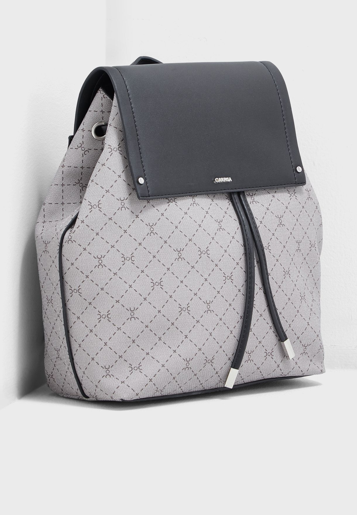Lace Detail Flap Over  Backpack