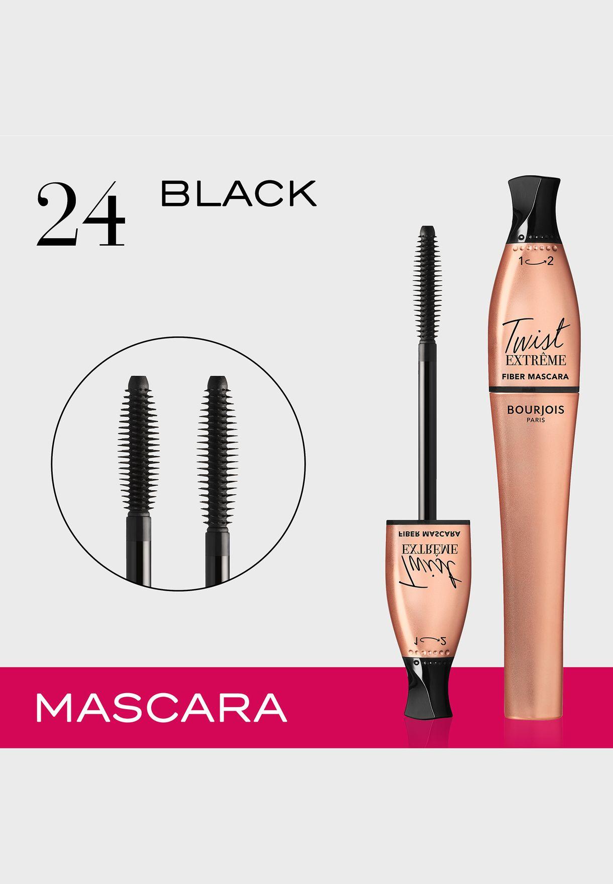 Twist Extreme Fiber Mascara 24 Black