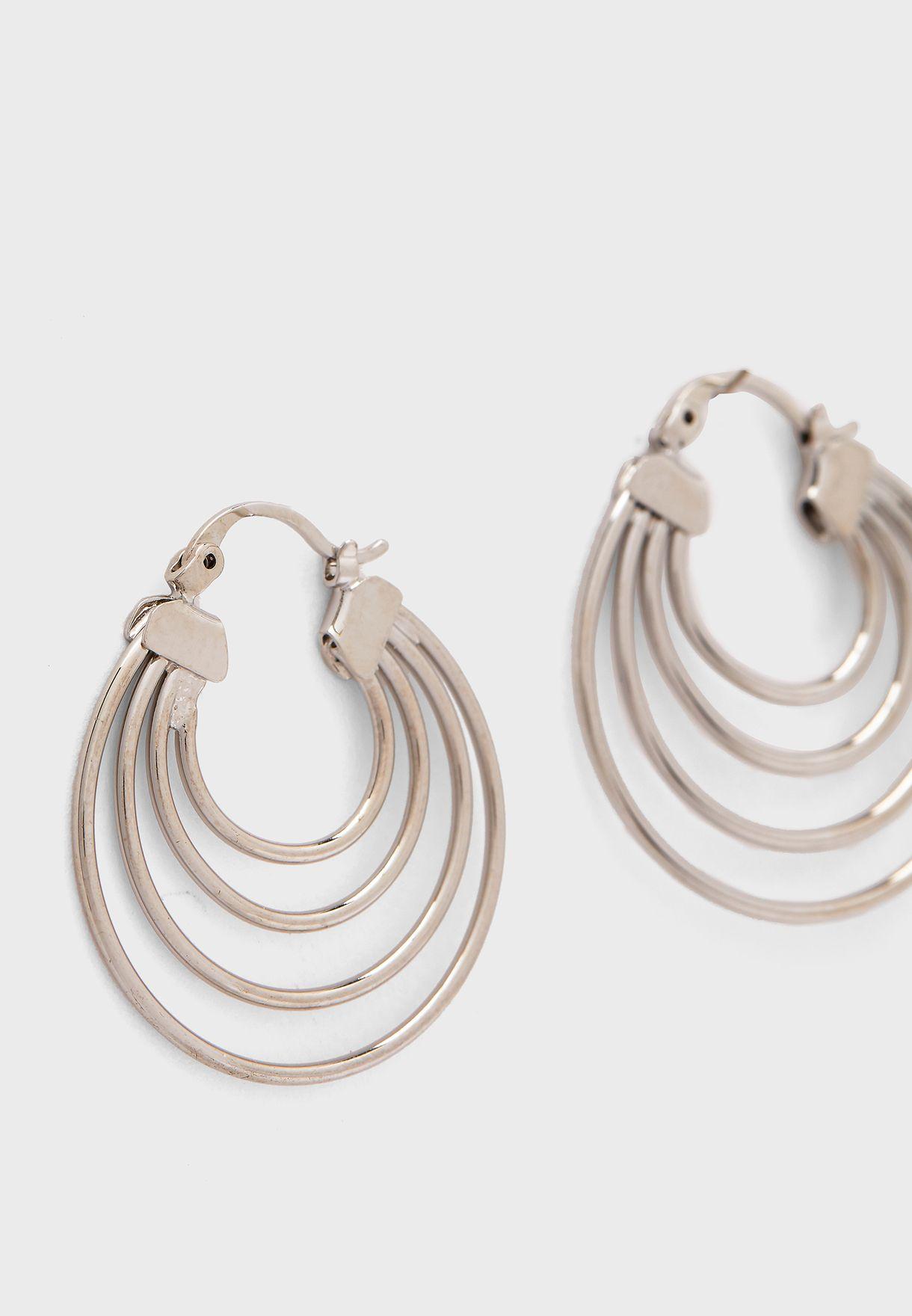Cecilia Hoop Earring