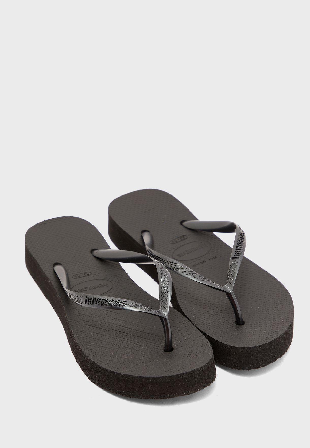 Slim Flatform Flip Flop