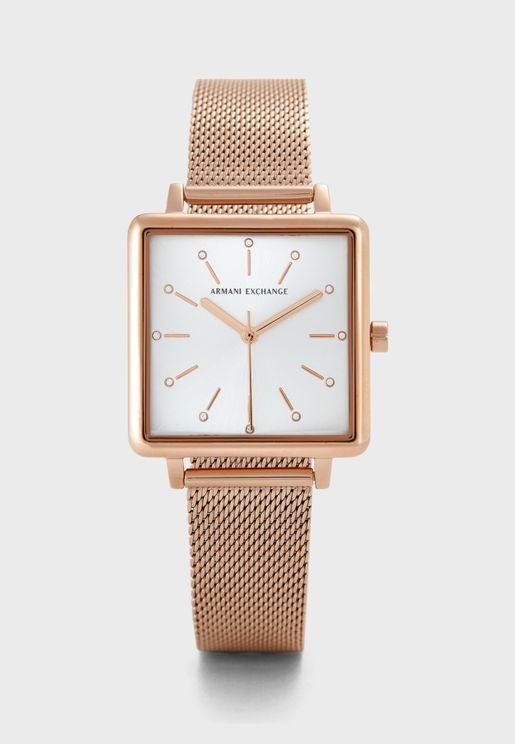 Lola Square  Analog Watch
