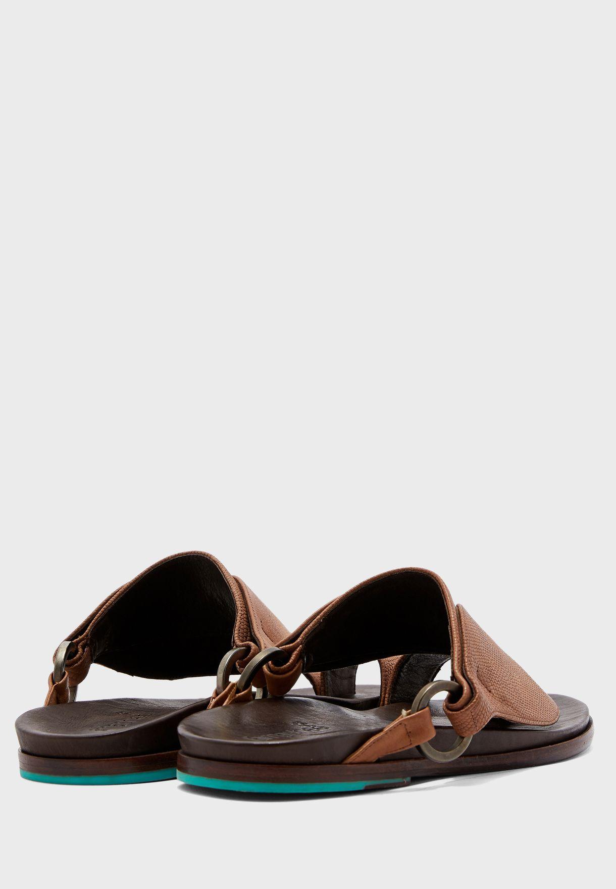 Luban Wide Strap Sandals