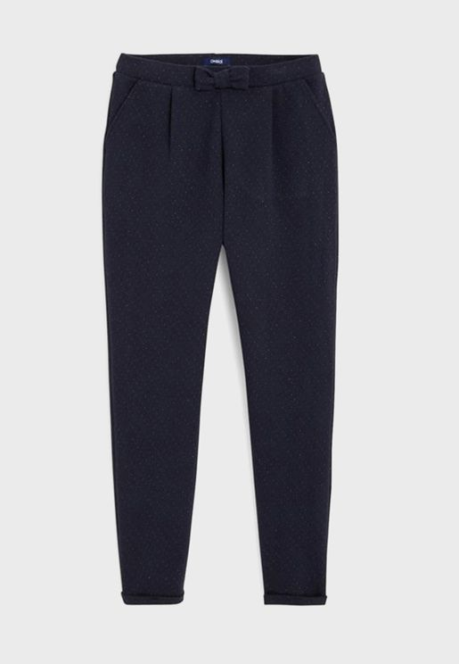 Kids Knot Detail Trousers