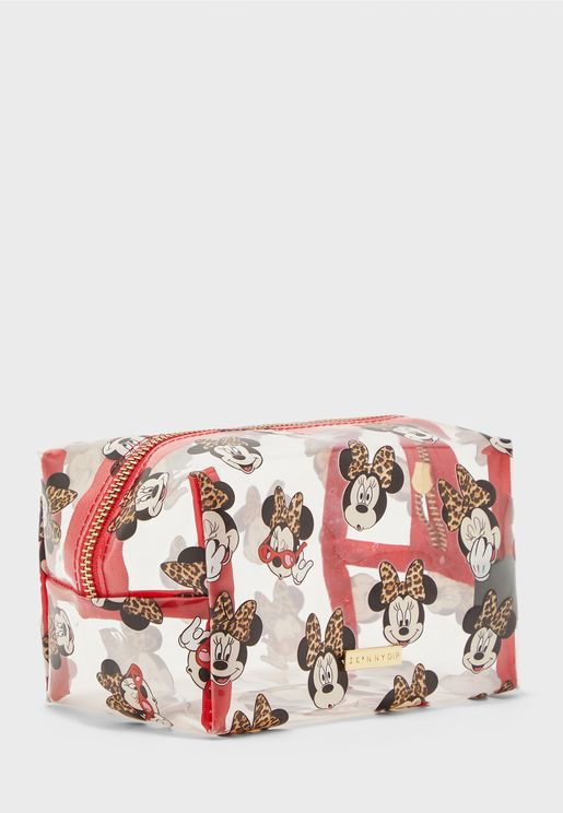 Disney Minnie Mouse Makeup Bag