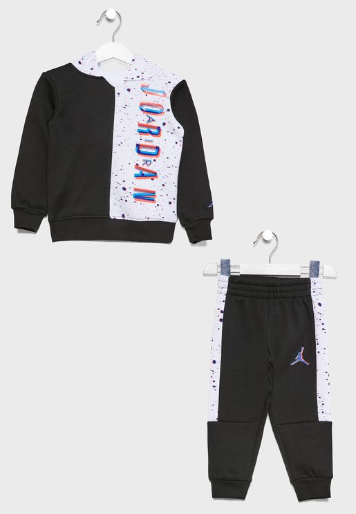 Infant Jordan Jumpman Space Glitch Tracksuit