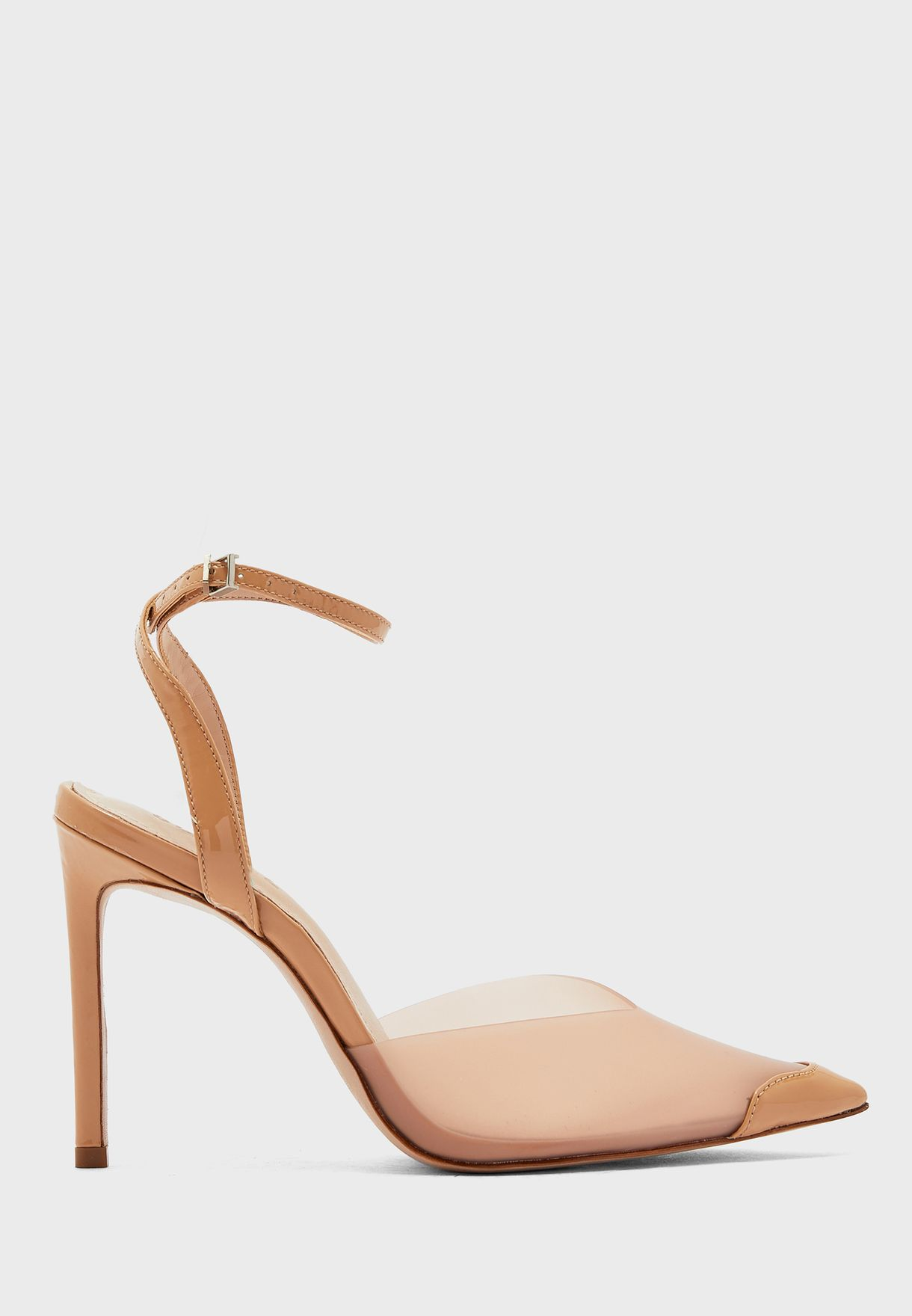 S-Monaly Ankle Strap Pump