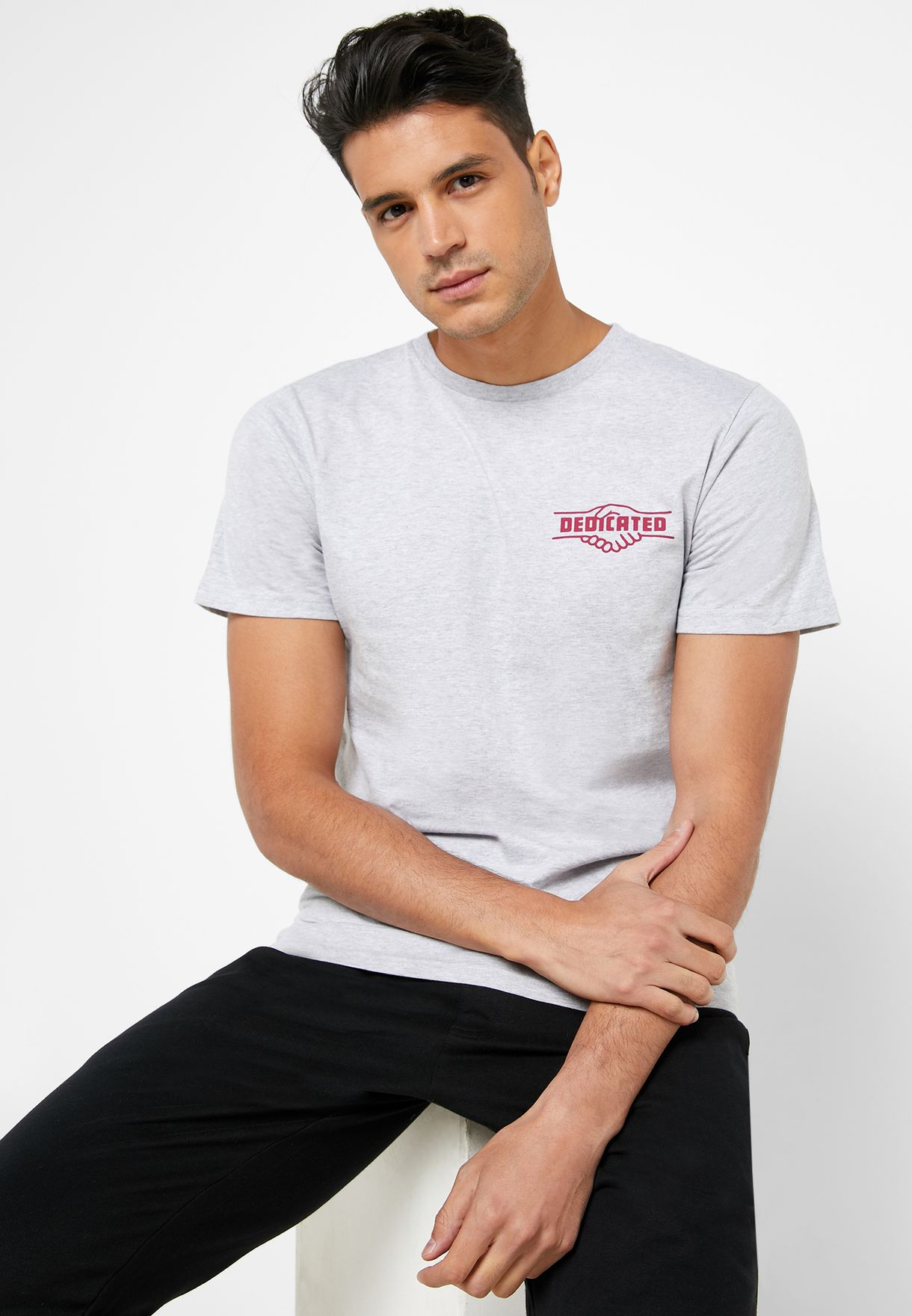 Stockholm Good Hands Crew Neck T-Shirt