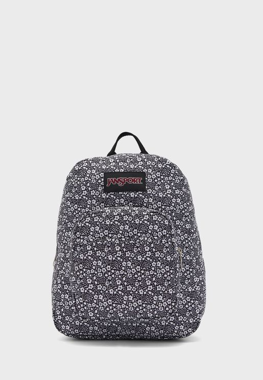 Kids Textured Print Backpack