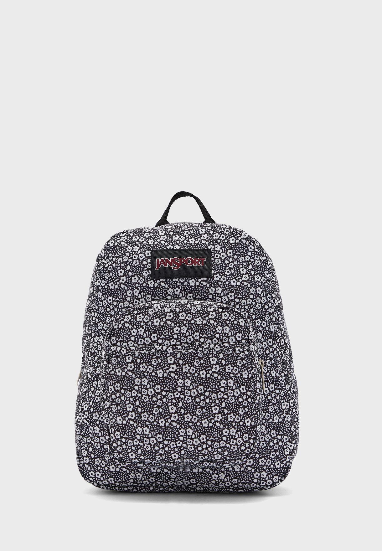 Kids Textured Print Backpack
