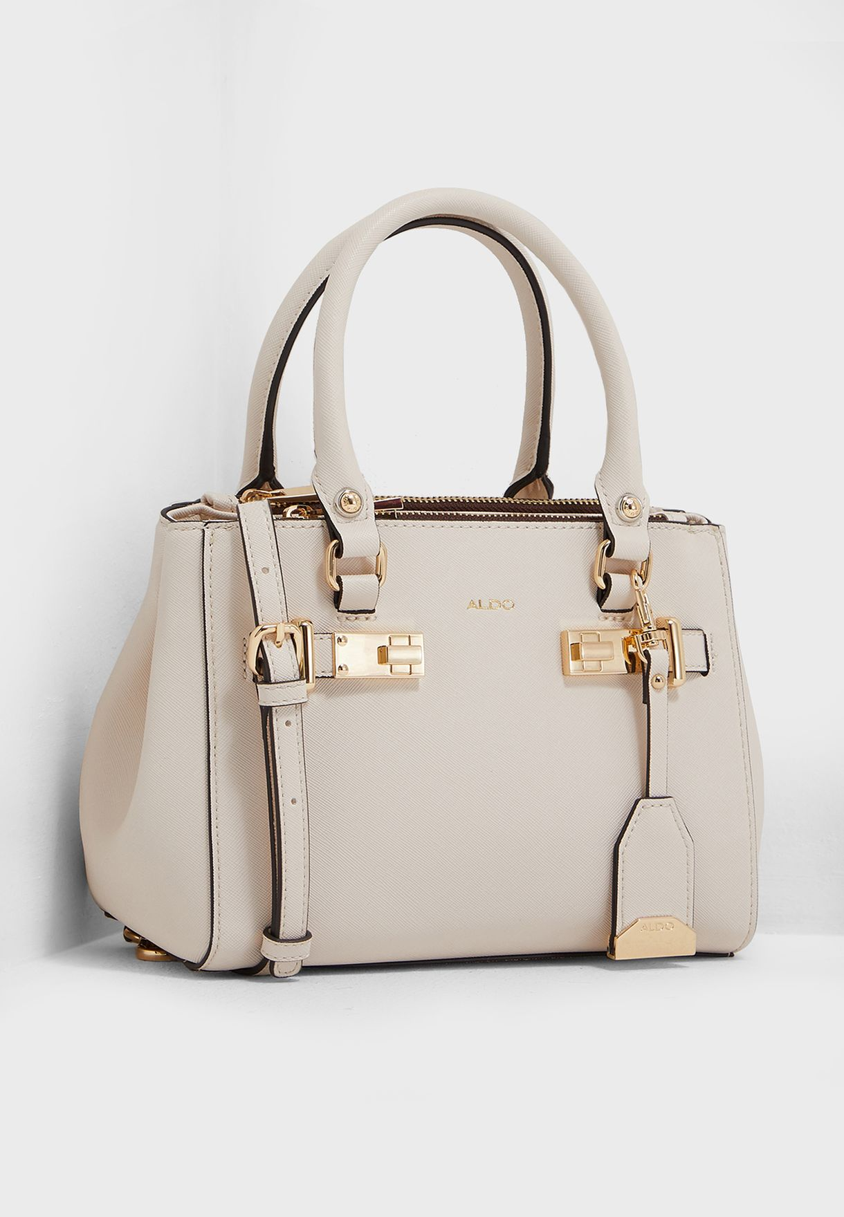 877fc0458bc Shop Aldo white Balswan Mini Satchel BALSWAN32 for Women in UAE ...
