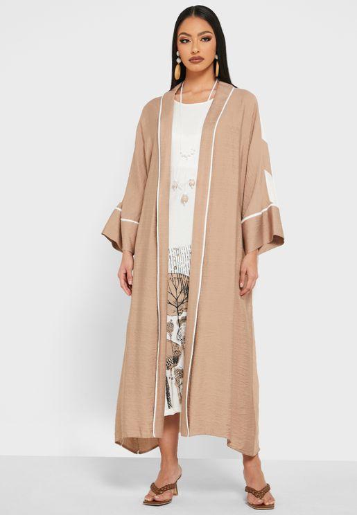 Printed Oversized Abaya