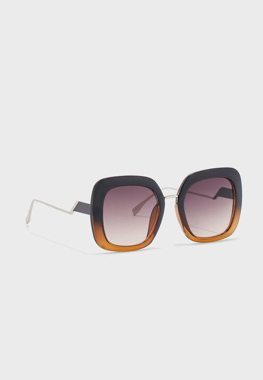 Oversize Graduated Sunglasses