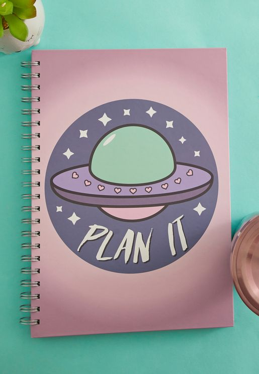 A4 Plan It Ring Bound Notebook