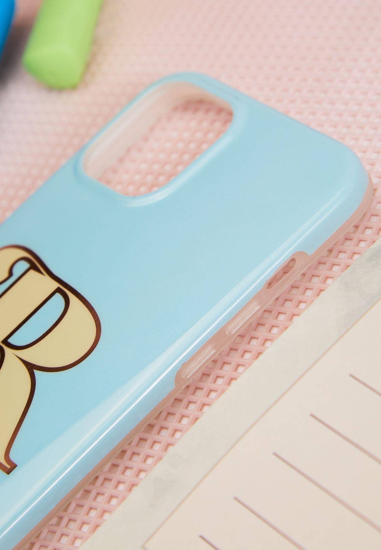 Monogram R Iphone 12 / 12 Pro Case